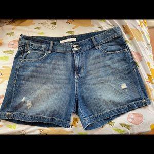 Jean shorts old navy 16